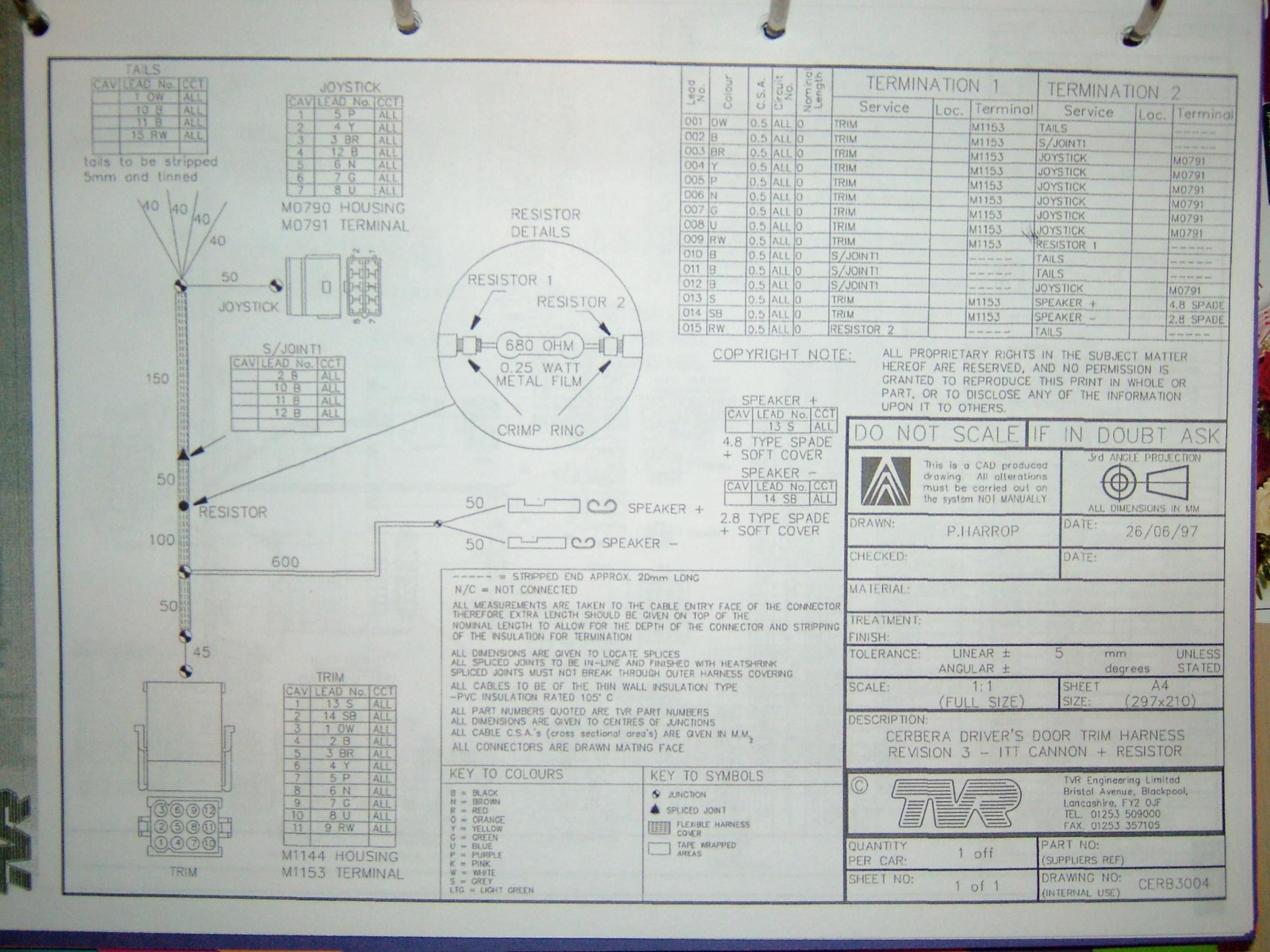 Wiring Diagrams Door Harness Diagram Passenger Cs