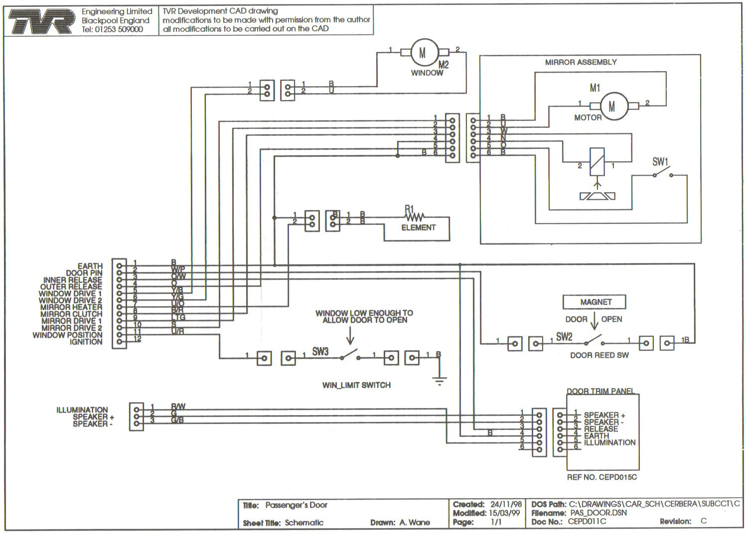 cepd0011Passanger Door cepd0011passanger door jpg tvr chimaera wiring diagram at alyssarenee.co